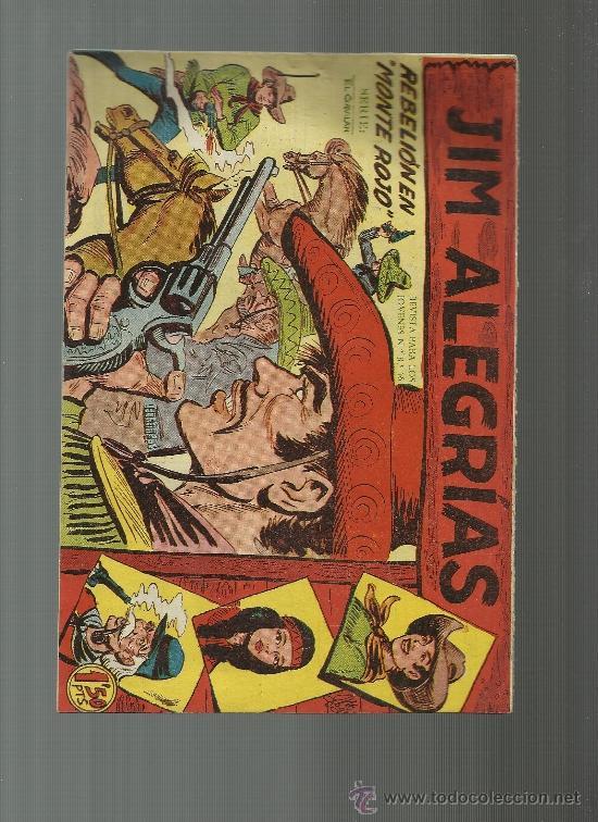 JIM ALEGRIAS Nº 9 (Tebeos y Comics - Maga - Otros)