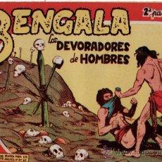 Tebeos: TEBEOS. COMIC. MAGA. BENGALA. LOS DEVORADORES DE HOMBRES. II - 15. Lote 31159879