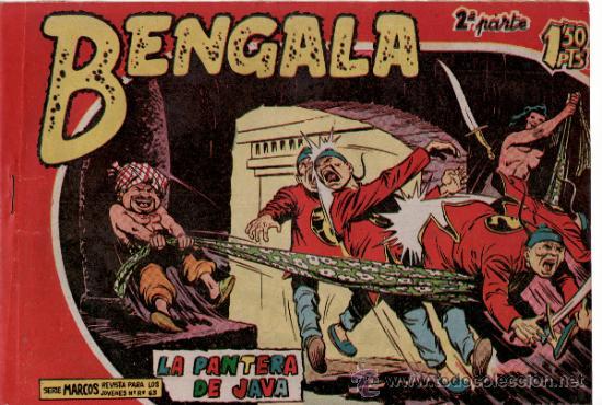 TEBEOS. COMIC. MAGA.LA PANTERA DE JAVA. II - 6 (Tebeos y Comics - Maga - Bengala)