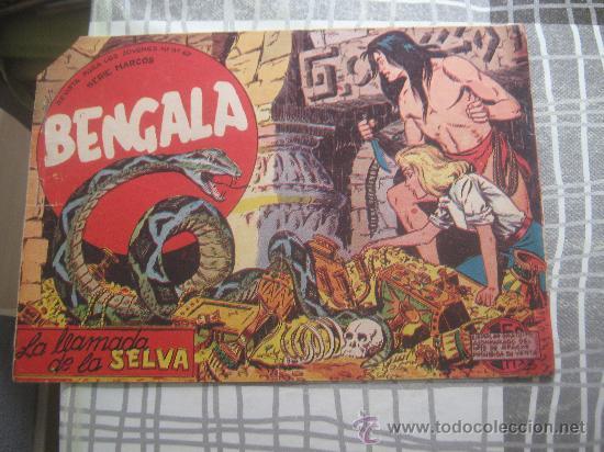 BENGALA Nº 2 (Tebeos y Comics - Maga - Bengala)