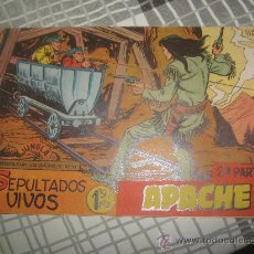 Tebeos: APACHE SEGUNDA Nº 2 CON HOJA DE PROPAGANDA BENGALA. Lote 31459370