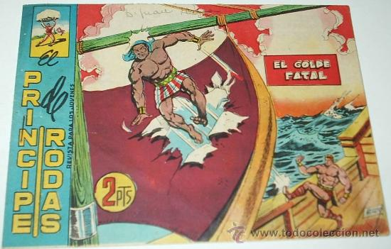 EL COLOSO PRINCIPE DE RODAS Nº 83 - ÚLTIMO NÚMERO ORIGINAL - PERFECTO - IMPORTANTE LEER DESCRIP. (Tebeos y Comics - Maga - Otros)
