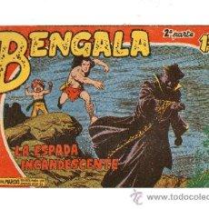 Tebeos: BENGALA Nº 23 ** II PARTE -- MAGA -- ORIGINAL. Lote 31722002