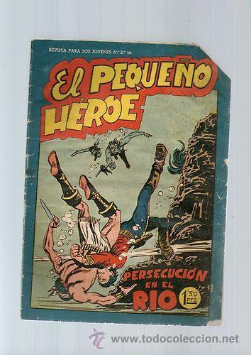 EL PEQUEÑO HEROE Nº 60 *** MAGA *** ORIGINAL DE LA EPOCA * (Tebeos y Comics - Maga - Pequeño Héroe)