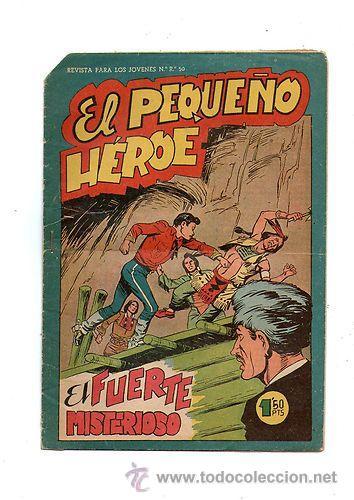 EL PEQUEÑO HEROE Nº 81 *** MAGA *** ORIGINAL DE EPOCA * (Tebeos y Comics - Maga - Pequeño Héroe)