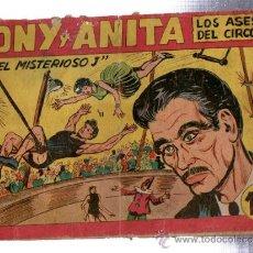 Giornalini: TEBEO TONY Y ANITA, LOS ASES DEL CIRCO, MAGA, 148. Lote 31953087