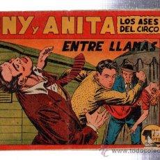 Giornalini: TEBEO TONY Y ANITA, LOS ASES DEL CIRCO, MAGA, 32. Lote 31953100