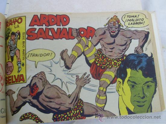 RAYO DE LA SELVA. COLECCIÓN ENCUADERNADA. COMPLETA. EN 2 TOMOS. (Tebeos y Comics - Maga - Rayo de la Selva)