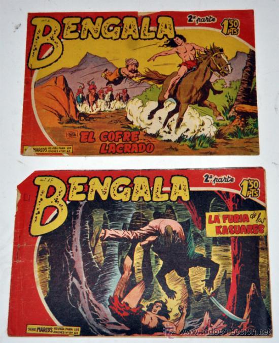 LOTE DE 2 - BENGALA- 2ª PARTE Nº 2 Y 16 (Tebeos y Comics - Maga - Bengala)