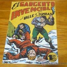 Tebeos: TEBEOS-COMICS GOYO - SARGENTO INVENCIBLE - MAGA - Nº 10 *BB99. Lote 32269102