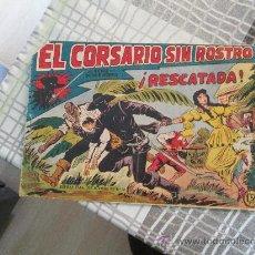Tebeos: EL CORSARIO SIN ROSTRO Nº 15. Lote 32740711