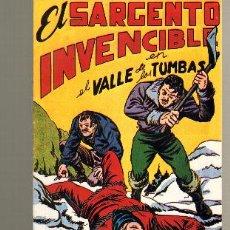 Tebeos: TEBEOS-COMICS GOYO - SARGENTO INVENCIBLE - Nº 10 - ED. MAGA *BB99. Lote 32791790