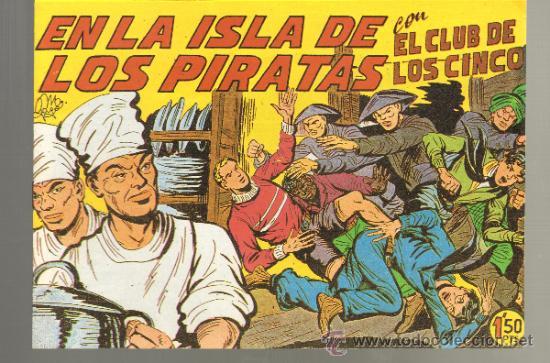 TEBEOS-COMICS GOYO - CLUB DE LOS CINCO - Nº 13 - RARISIMO - MAGA *GG99 (Tebeos y Comics - Maga - Otros)