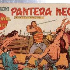 Tebeos: TEBEO PEQUEÑO PANTERA NEGRA, Nº 140, EL CARNAVAL DE LA MUERTE, MAGA, VALENCIA. Lote 33098761