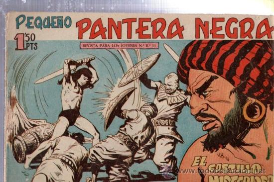 TEBEO PEQUEÑO PANTERA NEGRA, Nº 137, EL CASTILLO MISTERIOSO, MAGA, VALENCIA (Tebeos y Comics - Maga - Pantera Negra)