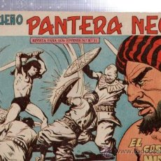 Tebeos: TEBEO PEQUEÑO PANTERA NEGRA, Nº 137, EL CASTILLO MISTERIOSO, MAGA, VALENCIA. Lote 33098783