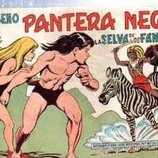 Tebeos: TEBEO PEQUEÑO PANTERA NEGRA, Nº 136, LA SELVA DE LOS FANTASMAS, MAGA, VALENCIA. Lote 33098795