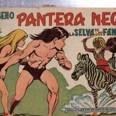 Tebeos: TEBEO PEQUEÑO PANTERA NEGRA, Nº 136, LA SELVA DE LOS FANTASMAS, MAGA, VALENCIA. Lote 33098796