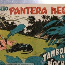 Tebeos: TEBEO PEQUEÑO PANTERA NEGRA, Nº 133, TAMBORES EN LA NOCHE, MAGA, VALENCIA. Lote 33098814