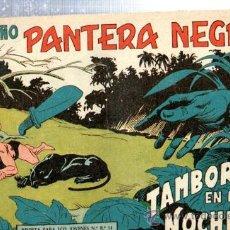 Tebeos: TEBEO PEQUEÑO PANTERA NEGRA, Nº 133, TAMBORES EN LA NOCHE, MAGA, VALENCIA. Lote 33098817