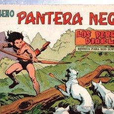 Tebeos: TEBEO PEQUEÑO PANTERA NEGRA, Nº 142, LOS PERROS DIABLOS, MAGA, VALENCIA. Lote 33098840