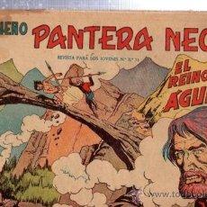 Tebeos: TEBEO PEQUEÑO PANTERA NEGRA, Nº 128, EL REINO DE LAS ÁGUILAS, MAGA, VALENCIA. Lote 33098860