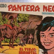 Tebeos: TEBEO PEQUEÑO PANTERA NEGRA, Nº 145, EL VIEJO INMORTAL, MAGA, VALENCIA. Lote 33098881
