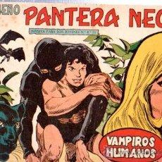 Tebeos: TEBEO PEQUEÑO PANTERA NEGRA, Nº 147, VAMPIROS HUMANOS, MAGA, VALENCIA. Lote 33098899