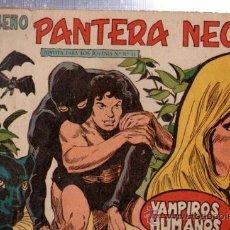 Tebeos: TEBEO PEQUEÑO PANTERA NEGRA, Nº 147, VAMPIROS HUMANOS, MAGA, VALENCIA. Lote 33098908