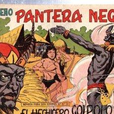 Tebeos: TEBEO PEQUEÑO PANTERA NEGRA, Nº 143, EL HECHICERO GOLPOLO, MAGA, VALENCIA. Lote 33098981
