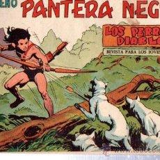 Tebeos: TEBEO PEQUEÑO PANTERA NEGRA, Nº 142, LOS PERROS DIABLOS, MAGA, VALENCIA. Lote 33099017