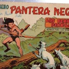 Tebeos: TEBEO PEQUEÑO PANTERA NEGRA, Nº 142, LOS PERROS DIABLOS, MAGA, VALENCIA. Lote 33099023