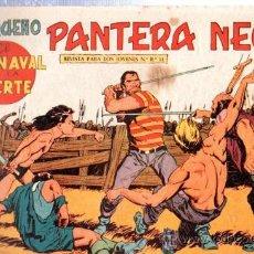Tebeos: TEBEO PEQUEÑO PANTERA NEGRA, Nº 140, EL CARNAVAL DE LA MUERTE, MAGA, VALENCIA. Lote 33099054