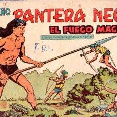 Tebeos: TEBEO PEQUEÑO PANTERA NEGRA, Nº 220, EL FUEGO MÁGICO, MAGA, VALENCIA. Lote 33098466