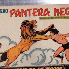 Tebeos: TEBEO PEQUEÑO PANTERA NEGRA, Nº 187, LA CAUTIVA DE LA TORRE, MAGA, VALENCIA. Lote 33098510