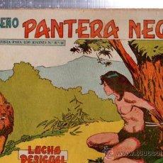 Tebeos: TEBEO PEQUEÑO PANTERA NEGRA, Nº 176, LUCHA DESIGUAL, MAGA, VALENCIA. Lote 33098552
