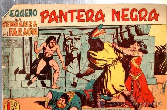 TEBEO PEQUEÑO PANTERA NEGRA, Nº 167, LA VENGANZA DEL FARAÓN, MAGA, VALENCIA (Tebeos y Comics - Maga - Pantera Negra)