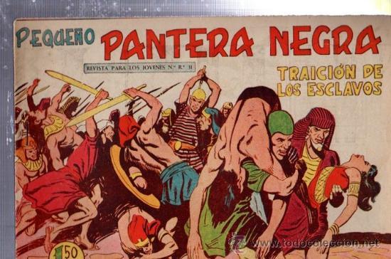 TEBEO PEQUEÑO PANTERA NEGRA, Nº 166, TRAICIÓN DE LOS ESCLAVOS, MAGA, VALENCIA (Tebeos y Comics - Maga - Pantera Negra)