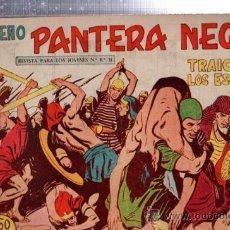 Tebeos: TEBEO PEQUEÑO PANTERA NEGRA, Nº 166, TRAICIÓN DE LOS ESCLAVOS, MAGA, VALENCIA. Lote 33098605