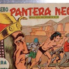 Tebeos: TEBEO PEQUEÑO PANTERA NEGRA, Nº 162, TIERRA DE FARAONES, MAGA, VALENCIA. Lote 33098628