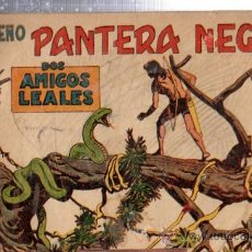 Tebeos: TEBEO PEQUEÑO PANTERA NEGRA, Nº 161, DOS AMIGOS LEALES, MAGA, VALENCIA. Lote 33098634
