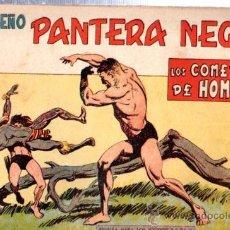 Tebeos: TEBEO PEQUEÑO PANTERA NEGRA, Nº 160, LOS COMEDORES DE HOMBRES, MAGA, VALENCIA. Lote 33098639