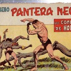 Tebeos: TEBEO PEQUEÑO PANTERA NEGRA, Nº 160, LOS COMEDORES DE HOMBRES, MAGA, VALENCIA. Lote 33098643