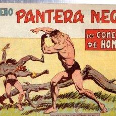 Tebeos: TEBEO PEQUEÑO PANTERA NEGRA, Nº 160, LOS COMEDORES DE HOMBRES, MAGA, VALENCIA. Lote 33098646