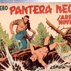 Tebeos: TEBEO PEQUEÑO PANTERA NEGRA, Nº 158, ARENAS MOVEDIZAS, MAGA, VALENCIA. Lote 33098664