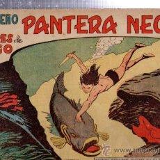 Tebeos: TEBEO PEQUEÑO PANTERA NEGRA, Nº 155, LOS HOMBRES DE FUEGO, MAGA, VALENCIA. Lote 33098712