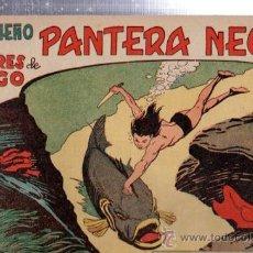 Tebeos: TEBEO PEQUEÑO PANTERA NEGRA, Nº 155, LOS HOMBRES DE FUEGO, MAGA, VALENCIA. Lote 33098719