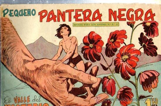 TEBEO PEQUEÑO PANTERA NEGRA, Nº 150, EL VALLE DEL MISTERIO, MAGA, VALENCIA (Tebeos y Comics - Maga - Pantera Negra)