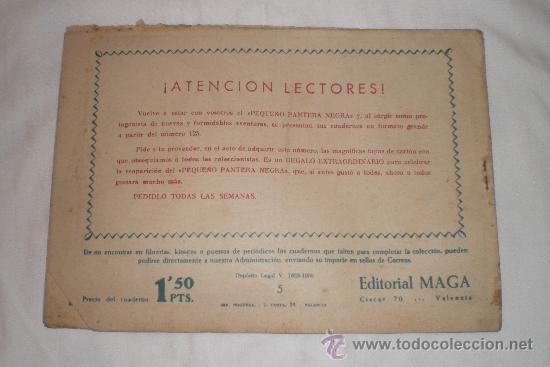 Tebeos: EL AGUILUCHO Nº5 - Foto 2 - 33612148