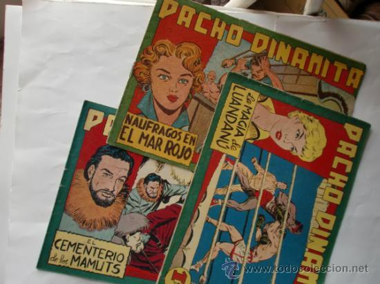 PACHO DINAMITA Nº 74 -115-119 ORIGINAL (Tebeos y Comics - Maga - Pacho Dinamita)